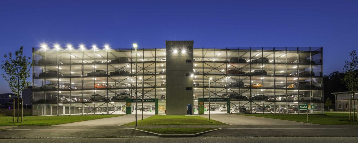 Leistungen Parkhausbau Header