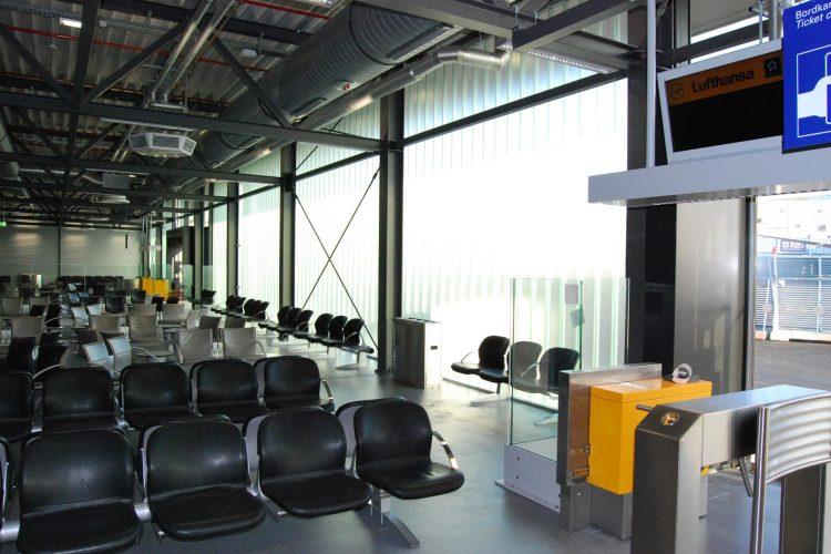 Interims-Busgate Frankfurt Flughafen 01