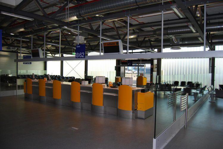Interims-Busgate Frankfurt Flughafen 02