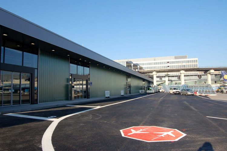 Interims-Busgate Frankfurt Flughafen 04