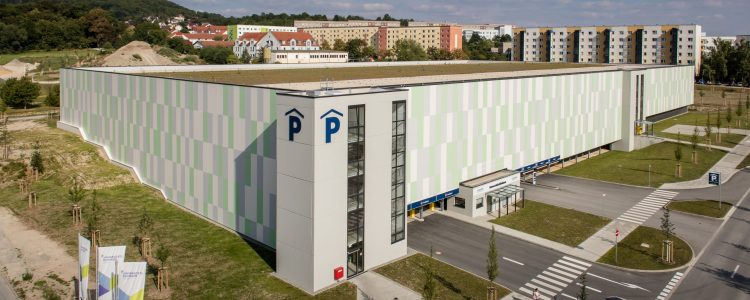 Parkhaus Universitätsklinikum Jena Header