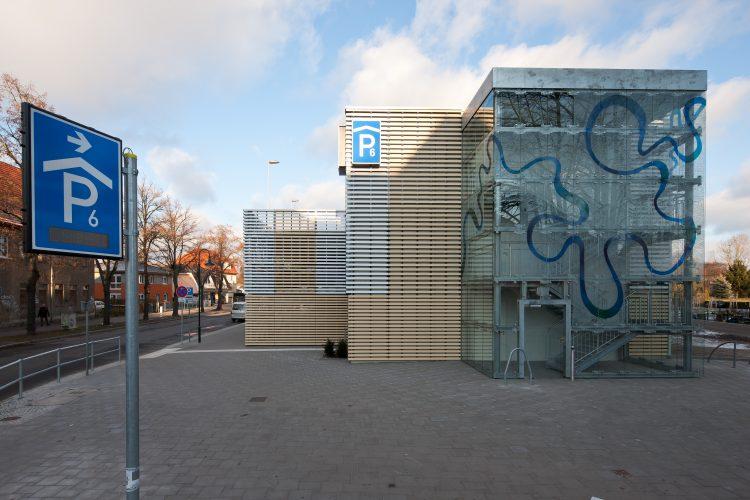 Parkhaus Waschspüle Bernau 05