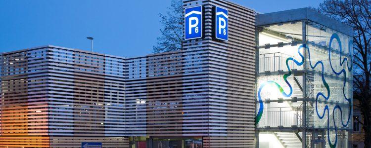 Parkhaus Waschspüle Bernau Header