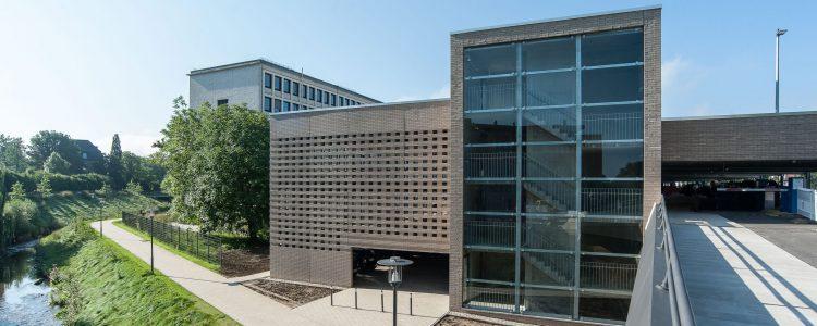 Parkhaus Am Finanzamt Detmold Header