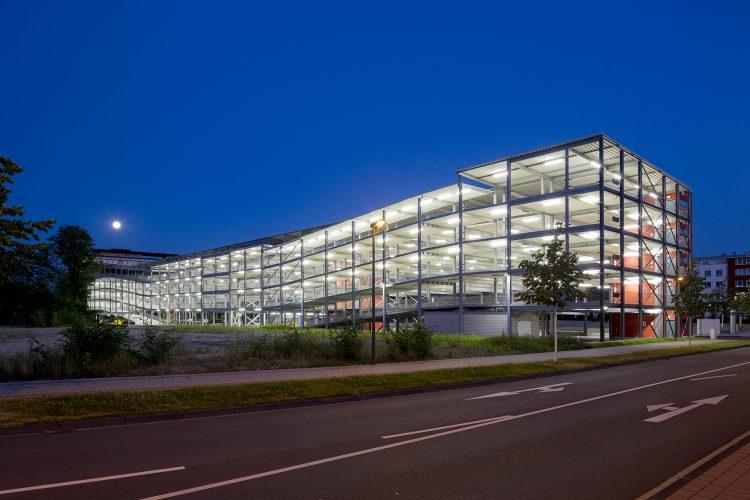 Parkhaus Stadthalle Troisdorf 01