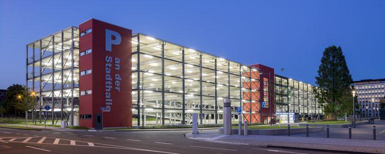 Parkhaus Stadthalle Troisdorf Header