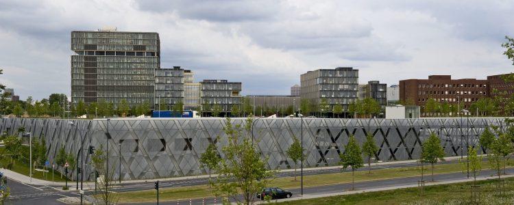 Parkhaus Thyssenkrupp Quartier Essen Header