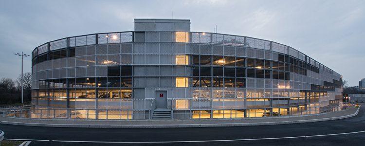 Parkhaus Vodafone Campus Düsseldorf Header