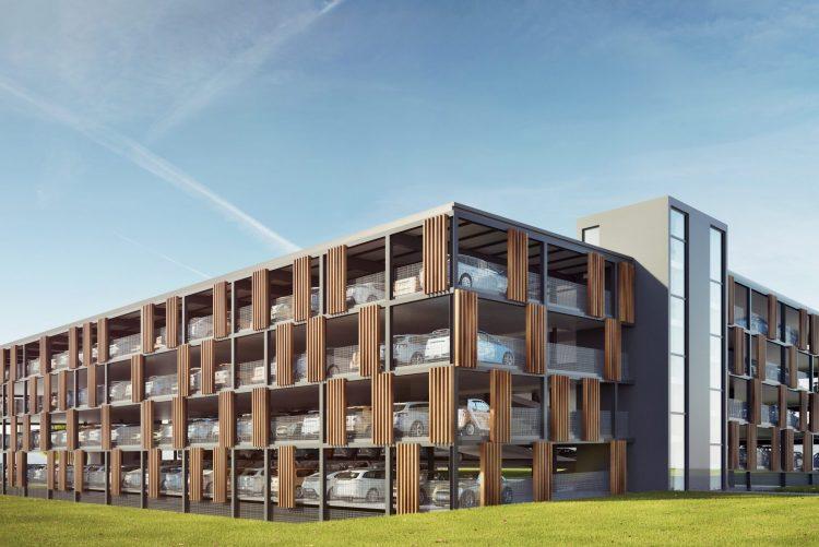 News Parkhaus P&R Innere Weidach Waiblingen Header