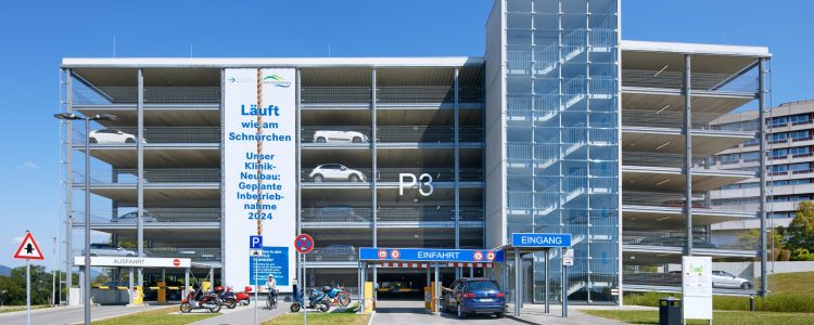 Parkhaus Alb Fils Klinik Am Eichert Göppingen Header