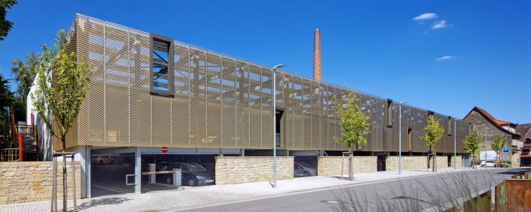 Parkhaus am Rathaus Eppingen Header