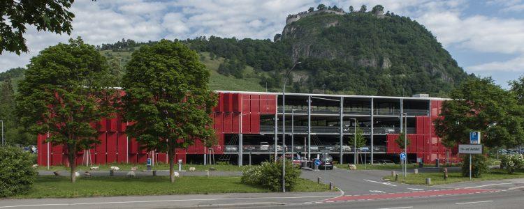 Parkhaus Hegau-Bodensee-Klinikum Singen Header